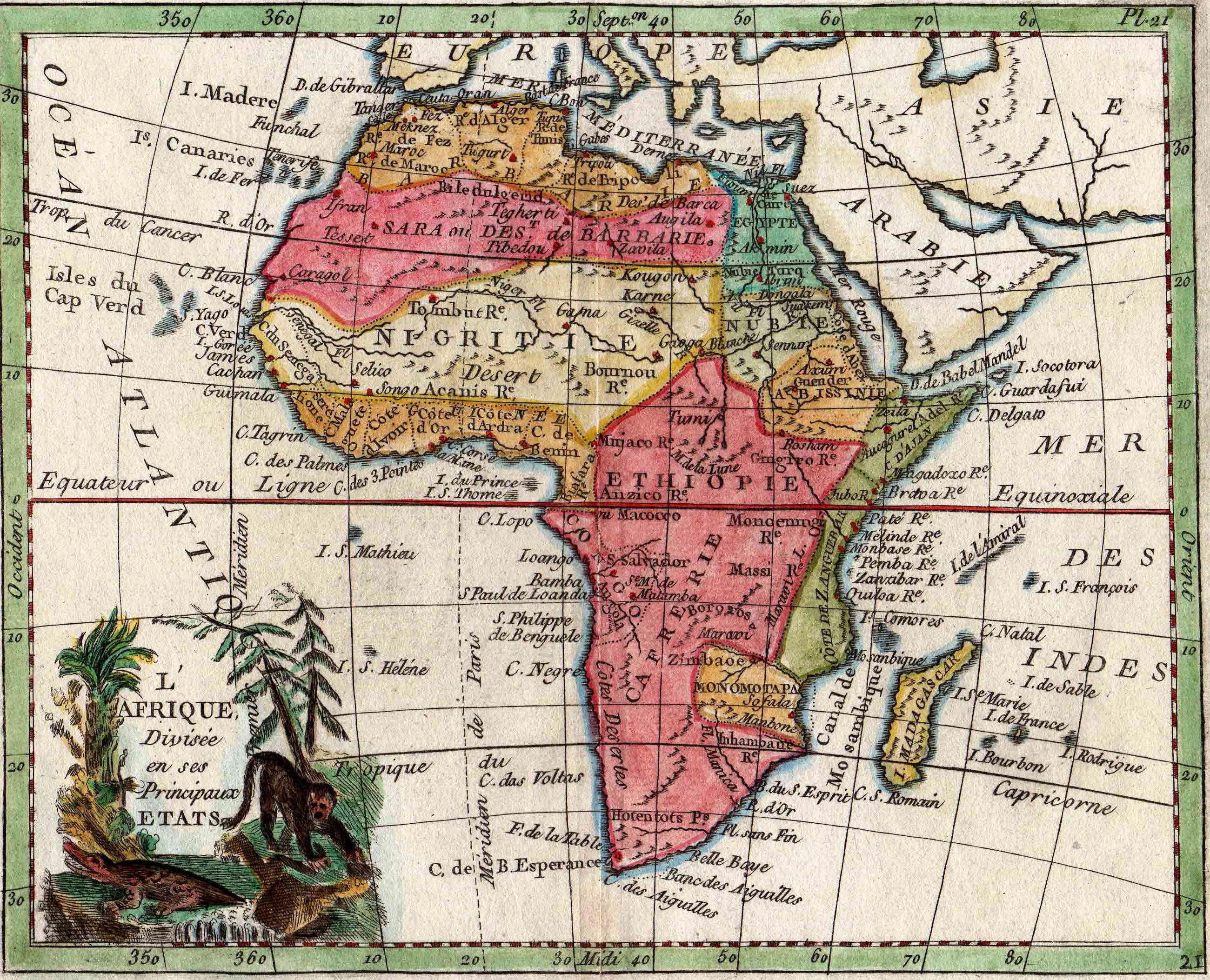 Sierra Leone Web   Historic Maps of Sierra Leone, from the Gary